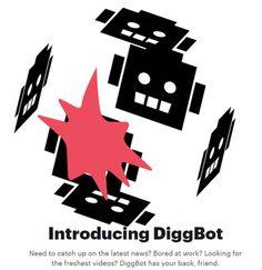 #Messenger_online_IM_ #Bot #Internet Digg lanza DiggBot, su bot de noticias, disponible por ahora para Slack