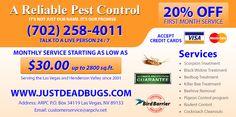 A Reliable Pest Control http://www.clicksaveboom.com/coupons/a-reliable-pest-control/