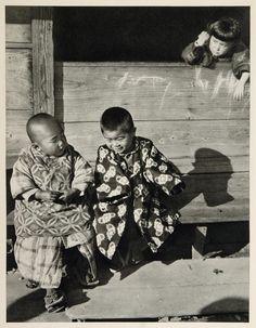 Japanese Children Kagoshima Japan Photogravure, 1930