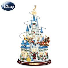 Disney Christmas Centerpiece With Mickey Mouse Narration