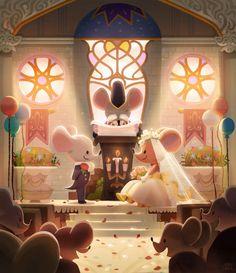 wedding by jellypuffer.deviantart.com on @DeviantArt