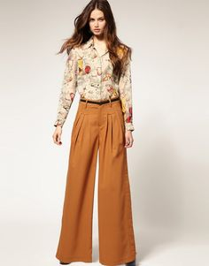 70'S Fashion Trends - Bing Images - -   Had these palazzo pants in cranberry
