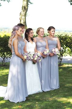 A lilac and Lavender Wedding - Inthefrow