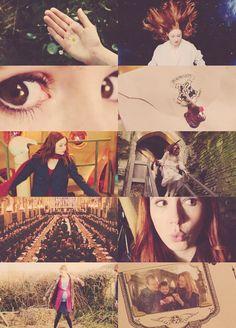 fancast - Karen Gillan as Lily Evans  source: tumblr
