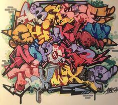 Graffiti Names, Graffiti Lettering Fonts, Graffiti Writing, Tattoo Lettering Fonts, Graffiti Characters, Graffiti Alphabet, Name Drawings, Learn Art, Flash Art