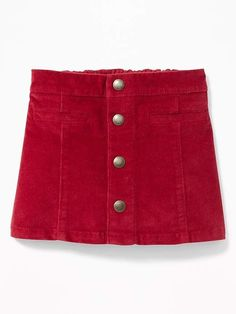 Baby & Toddler Clothing Professional Sale Girls Old Navy Size 4t Red Corduroy Mini Skirt Clothing, Shoes & Accessories