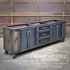 metal furniture This industrial double - furniture
