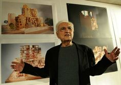 """In the documentary """"Sketches of Frank Gehry,"""" American architect Frank Gehry (b. 1929) says, """"I grew up a modernist. Decoration is a sin."""" Architecture should speak of its time and place, but yearn for a timelessness. Beautifully said Gehry."""