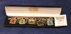 ENCHANTED TIKI ROOM DISNEYLAND BRACELET Charm Art Jewelry Disney 2008 LE500 NEW