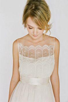 The Neckline: Bridal Fashion Inspiration