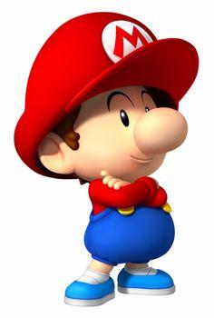 Mario As A Baby | siempre compitiendo con baby daisy su novia es baby peach