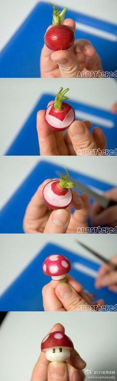 """arte na cozinha ***annathered : Anna """"the red"""" - artista japonesa que faz arte com comida no preparo de bentos (pronuncia-se bentõ/significa marmita) seguindo as maes jappnesas que o fazem para introduzirem alimentos saudaves a alimentaçao das crianças."""