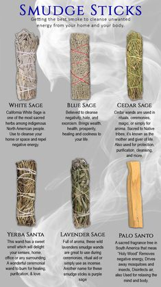 Smudging Prayer, Sage Smudging, Witch Spell Book, Witchcraft Spell Books, Healing Herbs, Natural Healing, Benefits Of Burning Sage, Yerba Santa, Witchcraft For Beginners