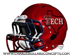 Charles Sollars Concepts @charles elliott elliott Sollars http://www.charlessollarsconcepts.com/texas-tech-red-raiders-helmet-concepts/ #texastech #redraiders #big12 #bigXII