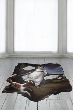 The most amazing rug. Think I have to design my living room around it!