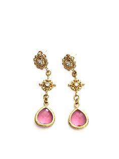 Ohrringe *Fuschl* pink