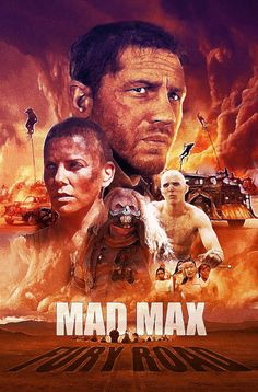 BROTHERTEDD.COM - pixalry: Mad Max: Fury Road Poster - Created by...