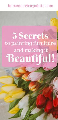 Paint Furniture | Painting Furniture the Right Way