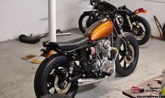 My Street Tracker Build? Yamaha 650, Yamaha Cafe Racer, Cafe Racers, Vintage Bikes, Vintage Motorcycles, Bowie Heroes, Brat Cafe, Spare Tire Covers, Street Tracker