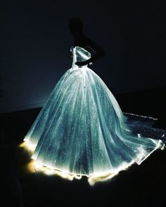 This Glow-In-The-Dark Cinderella Gown Is The Most Beautiful Dress You'll Ever See