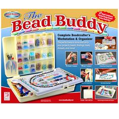 <div>The perfect way to store and carry your projects, beads, findings, tools, threads and more!... I have this one and love it!