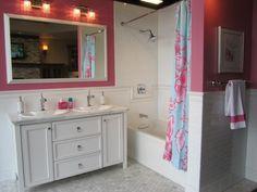Teen bathrooms on pinterest bathroom galvanized shower for Cute bathroom ideas for teenage girls