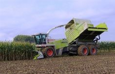 Nice pic' of a #Claas forage #harvester in action! Find many other makes and models at http://www.agriaffaires.co.uk/used/1/forage-harvester.html