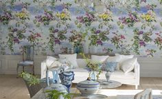 Collectie Caprifoglio. Frescos flowers and sky – a graceful and liberating collection