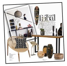 """""""For Diane..."""" by gloriettequartet ❤ liked on Polyvore featuring interior, interiors, interior design, home, home decor, interior decorating, ESPRIT, Universal Lighting and Decor, NOVICA and Barclay Butera"""
