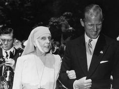 Princess Alice of Greece with her son Phillip, Duke of Edinburgh. After she established a nursing order of nuns. In she was invited by her son to live at Buckingham Palace in London where she lived until her death two years later. Prince Philip Mother, Prince Andrew, Buckingham Palace, Alice Von Battenberg, Prins Philip, Elisabeth Ii, Isabel Ii, British Royal Families, Queen Mother