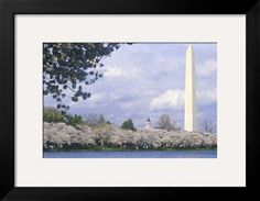 The Washington National Monument in Springtime, Washington, D.C. Photographic Print at Art.com