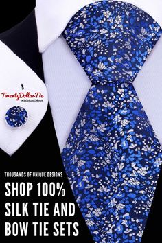 Shop a wide-variety of silk tie & bow tie sets from Twenty Dollar Tie. Stylish Mens Outfits, Formal Outfits, Urban Fashion, Men's Fashion, Suit Accessories, Cool Ties, Mens Fashion Suits, Japanese Fabric, Wedding Men