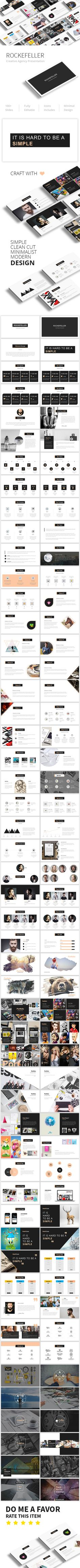 Rockefeller Creative Google Slide Presentation