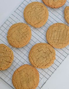 Enjoy this classic version of Peanut Butter Cookies. These melt in your mouth cookies are crispy on the edges and chewy in the middle.