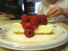 White Chocolate Mousse Torte with Fresh Berries