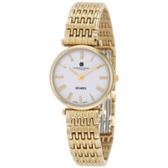 Premium Collection Gold-Plated Stainless Steel Watch