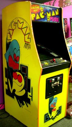 One of the BEST things in my childhood....PAC MAN!!!!!!