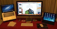 MacBook Pro, 27‑inch iMac with Retina 5K display, iPad Pro