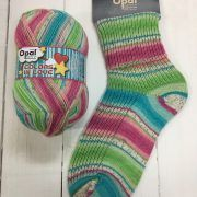 Opal 4ply Sock Yarn 100g -Colours in Love range - Enchanted Kiss