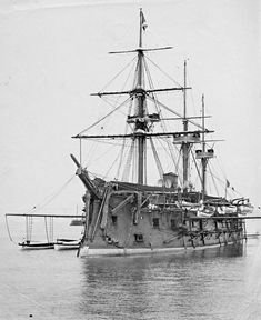 French Océan-class ironclad Marengo in 1872