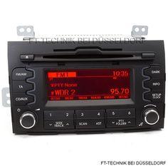 Ein Kia Sportage CD Radio! Passend für: Kia Sportage 3. Generation ab 2010 bis 2015 Bei uns im Shop!
