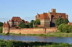 Castle of the Teutonic Order in Malbork, Marienburg (Mary's Castle), Poland