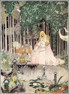 I was entranced by Kay Nielsen's work as a teenager.  Still am. Kay Nielsen's Stunning 1914 Scandinavian Fairy Tale Illustrations | Brain Pickings