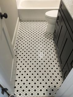 Beautiful bathroom remodel     #bathroom #tile #granite #classic #blackandwhite #gannoncustomhomes #localbusiness #texas #remodel #custombuilder #interior #design #professional #contractor #construction #residential #business #family
