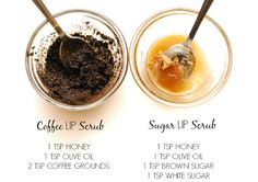 DIY Lip Scrub, Beauty DIY's, Lip Scrub, Lip Exfoliation, Do it yourself