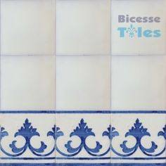Ask 1115 Portuguese Painted Border Tiles Azulejos