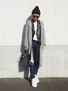 yurieさんのライダースジャケット「TODAYFUL レザーライダースジャケット」を使ったコーディネート