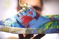 These dudes designed a pair of sneakers made entirely out of garbage. SO COOL.