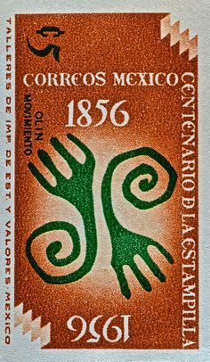 1956 Mexico Stamp.