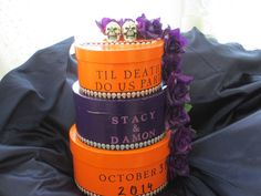 Items Similar To Custom Made Gothic Wedding Card Box Halloween Traditional On Etsy